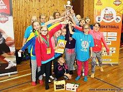 Easter Cup 2017 basketbalistek U11 v Klatovech.