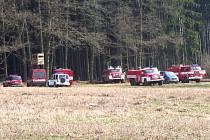 V sobotu ve 12.21 byl ohlášený požár lesa mezi Pavlovicemi a Kladruby.