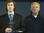 Nejlepším sportovcem se za rok 2012 stal Ladislav Štěpař, kterému cenu předal starosta Benešova Jaroslav Hlavnička.