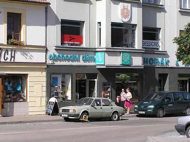 """Botičky využívají strážníci v Benešově poměrně často. Dokládá to i snímek pořízený """"Na Blátě""""."""