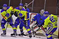 Benešov první finálový zápas s Černošicemi prohrál 3:6.