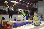 Gymnastky z Benešova cvičily na pražské Bohemce.