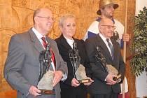 Titul Blanický rytíř, který udělují neziskové organizace Podblanicka, získávají každoročně tři navržení kandidáti.