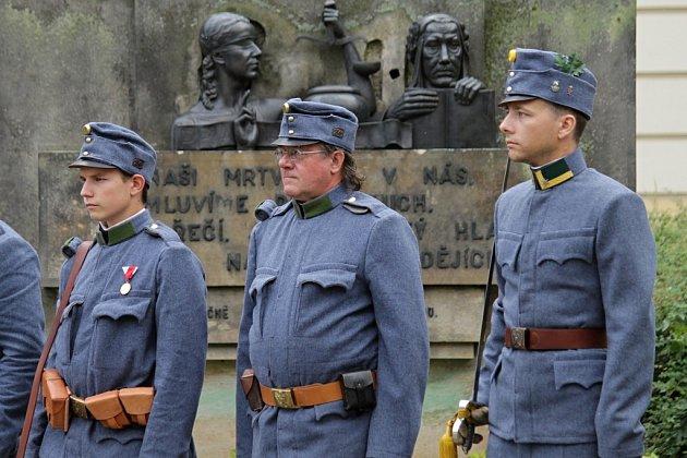 Pieta k připomínce vypuknutí první světové války.