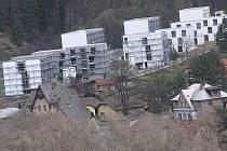 Sídliště Kněžina na Brodcích, jedné části města Týnce nad Sázavou.