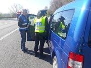 Dopravně-bezpečnostní akce na Benešovsku.