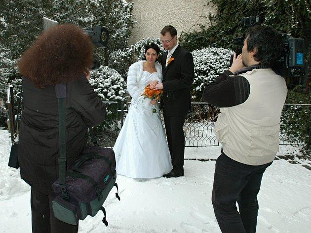 Svatbu na Konopišti můžete mít i v zimě.
