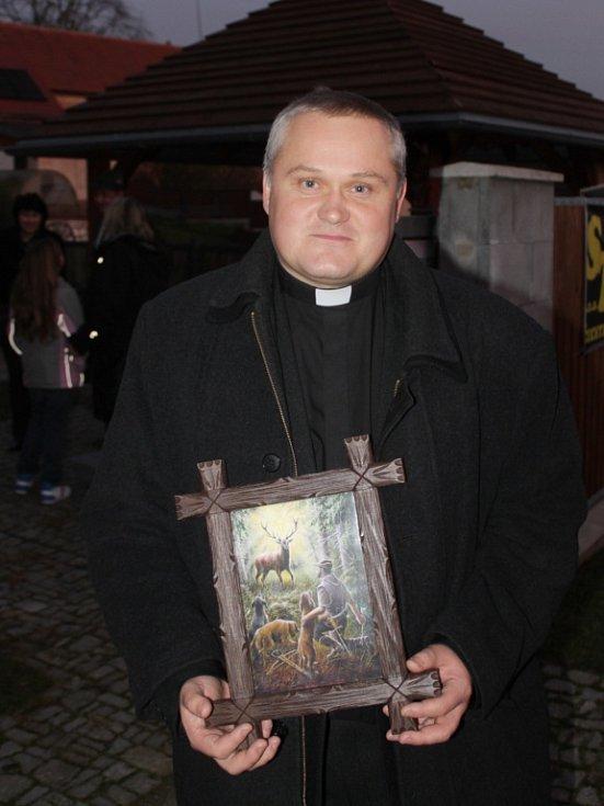 Hlavní část Svatohubertských slavností se odehrála v kostele sv. Bartoloměje.