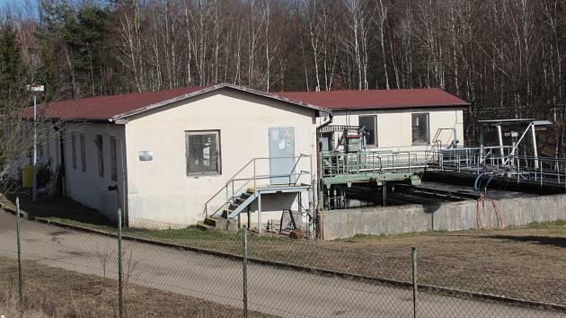 Votická čistírna odpadních vod. Nově se na ni napojí také obyvatelé místních částí Beztahov a Amerika.