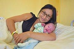 Manželům Radce a Lubošovi Kopeckým zBenešova se 20. září ve20.57 narodil chlapeček Kristián. Při narození vážil 3550 gramů a měřil 50 centimetrů. Doma se na něj těší bráška Sebastián (3).