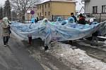 Masopustní rej oživil ulice Čechtic