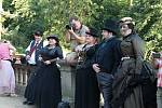 Ze setkání s názvem Odpoledne s Jamesem Wattem na zámku Konopiště.
