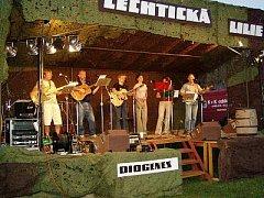 Trempská skupina Diogenes, která celý festival před osmadvaceti lety odstartovala.