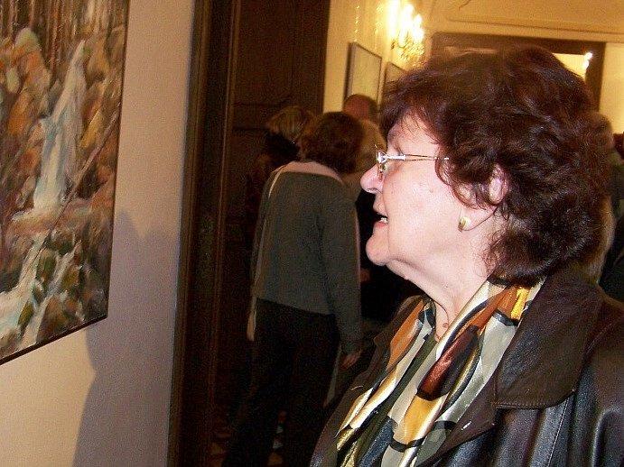 Návštěvníci vlašimského zámku obdivovali Dvořákova plátna