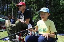 Kladrubské závody malých rybářů.