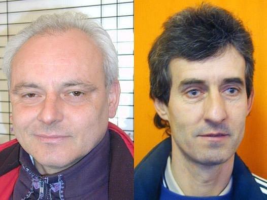 Miroslav Bubeník, trenér Benešova a Tomáš Remek, trenér Tábora