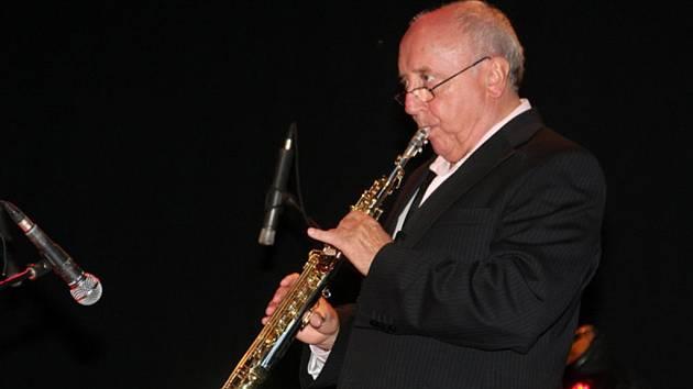 Saxofonista Felix Slováček st.