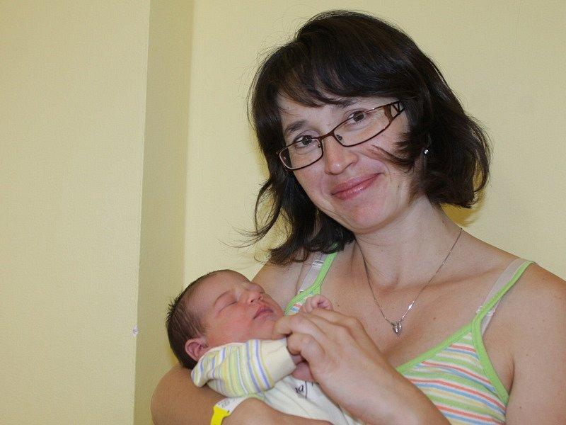 Marie Pužejová s mámou Janou, Mlékovice