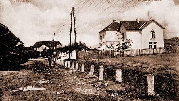 Čerčany na starých fotografiích.
