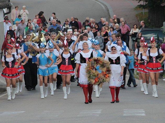 Dožínky ve Vranově jsou pro obyvatele obce ale i dalších obcí z okolí vždy událostí. Letos se v sobotu 16. září konají posedmé.