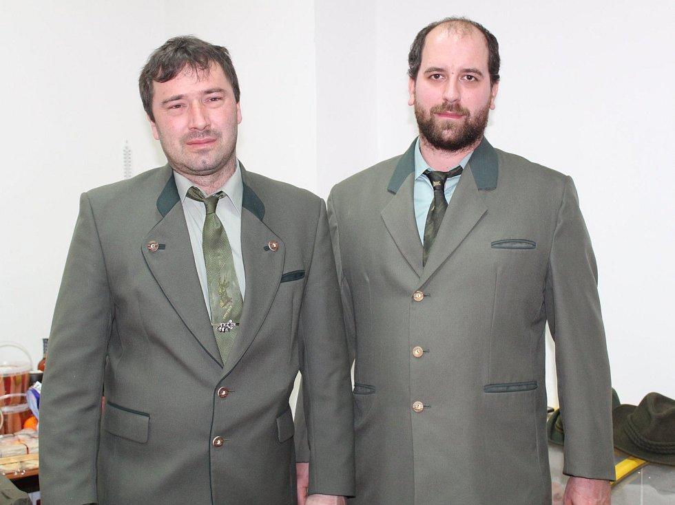 Myslivecký ples ve Struhařově.