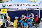 Den záchranářů na Masarykově náměstí v Říčanech.