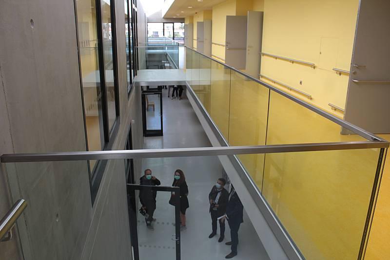 Rehabilitační centrum v benešovské nemocnici.