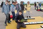 Voticky školní den třídění k recyklaci.