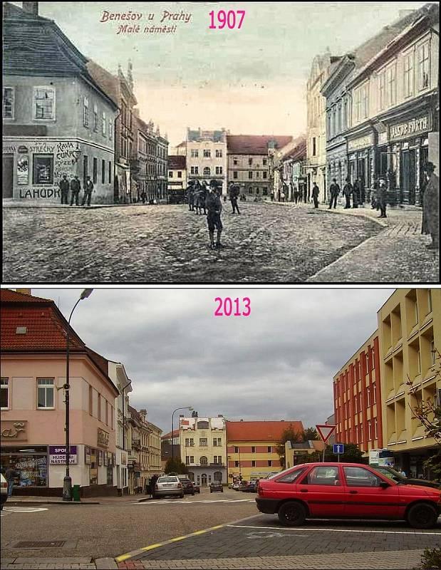 Benešov - Malé náměstí