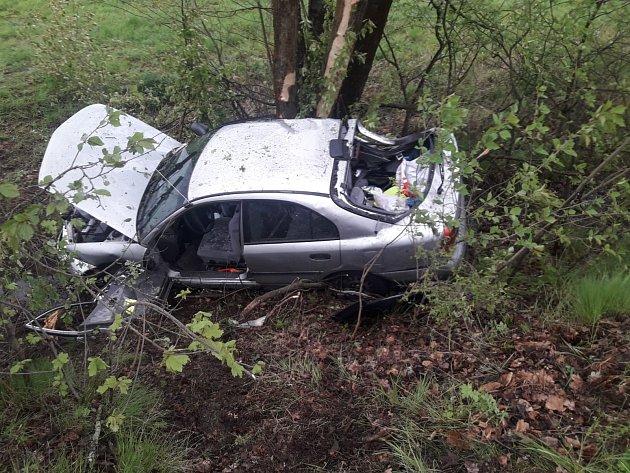 Nehoda uRabyně na Benešovsku.