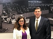 Pracovní návštěva Jaroslavy Pokorné Jermanové v Washingtonu D.C.