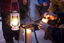 Betlémské světlo v Hospicu Dobrého Pastýře