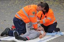 Ukázky Zdravotnické záchranné služby, hasičů a policie se odehrají v sobotu 19. září od 13 hodin na parkovišti v Táborských kasárnách.