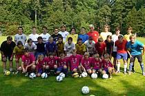 Fotbalový kemp v Neveklově.