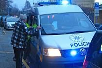 Nehoda v Tyršově ulici se stala kolem 7. hodiny.