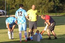 Fotbalový zápas I. B třídy Chotýšany - Teplýšovice