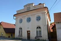 Synagoga v Divišově.