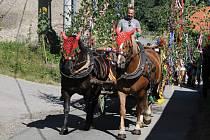 Šesté Dožínkové slavnosti obcí Vranov a Přestavlky u Čerčan jsou už minulostí.
