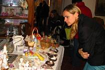 Velikonoční výstava na týneckém hradu.