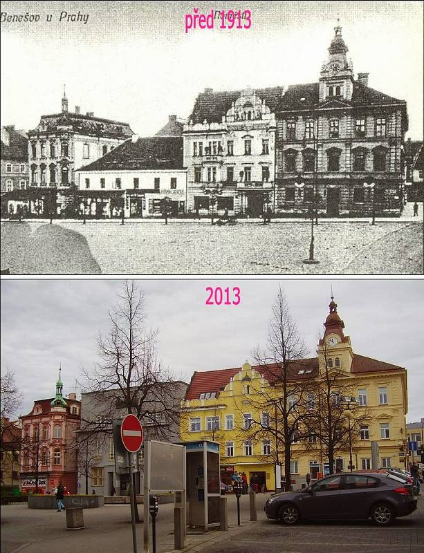 Benešov - Masarykovo náměstí