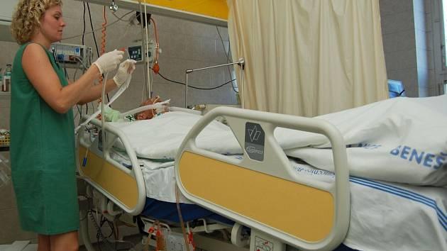 Práce zdravotních sester je zodpovědná všude, zvláště na oddělení ARO