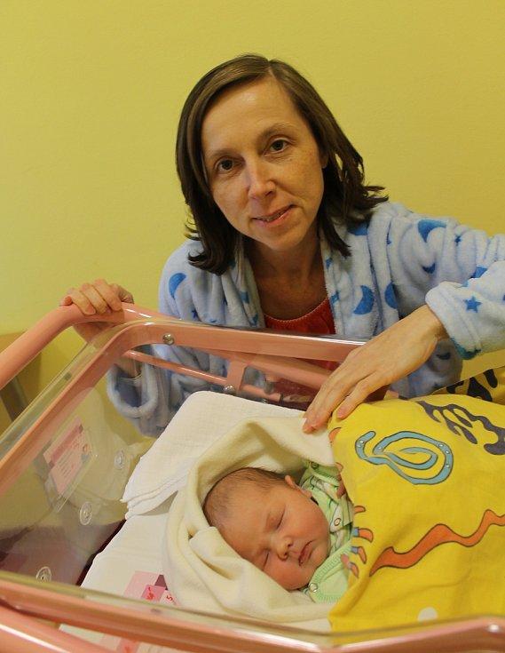 Monika Otradovcová se partnerům Haně Šimkové a Janu Otradovcovi z Benešova narodila 13. ledna 2020 v 5.57 hodin, vážila 4110 gramů.