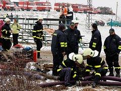 Na 14 hasičských družstev čeká v Poříčí nad Sázavou sníh a mráz.