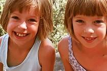 Dvojčata Terezka a Eliška.