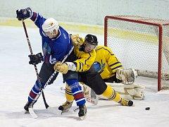 Hokejové derby Benešov - Vlašim 5:3.