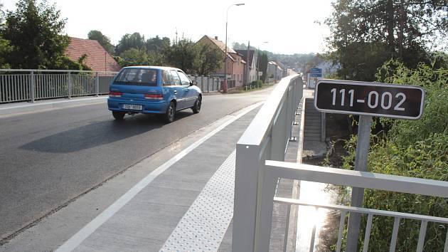 Nový most v Bystřici slouží od začátku září 2018.