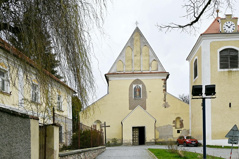 Kostel sv. Mikuláše v Benešově.