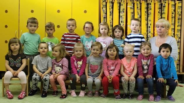 Mateřská škola U Kohoutka Sedmipírka v Benešově: třída Berušky.