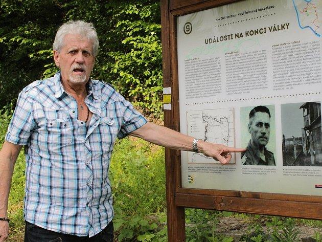 Siegfried Klein navštívil Štěchovice.