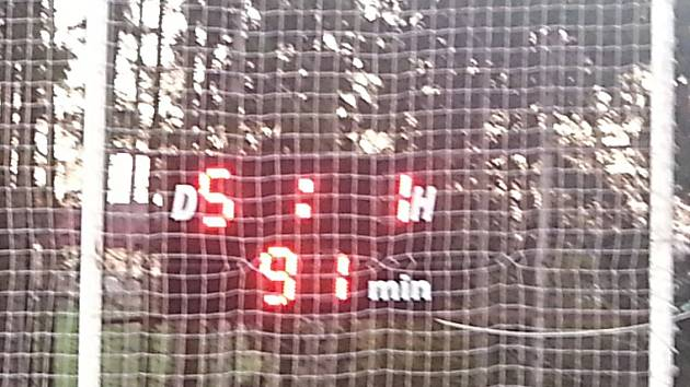 Po skončení zápasu svítil na tabuli stav 5:1.
